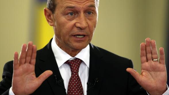 Basescu: Marirea taxelor nu este solutia