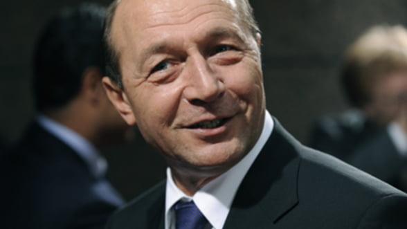 Basescu: Ne-am propus sa avem acces la uniunea bancara. S-a intamplat