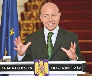 Basescu: Respingem energic incercarea de infiintare a autoritatii unice de supraveghere bancara in UE