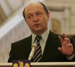 """Basescu: Romania a aderat la """"Pactul euro plus"""""""
