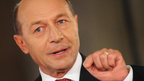 Basescu: Si in 2012 vom avea crestere economica