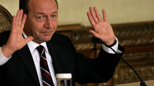 Basescu, suspendat: Nu voi mai candida niciodata la functia de presedinte