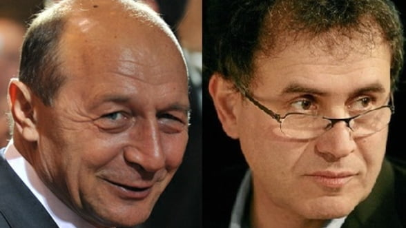 Basescu, un fel de Roubini II - Opinie Mircea Cosea