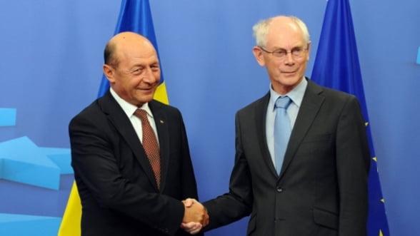"Basescu a ""negociat"" cu Van Rompuy iesirea din MCV ""dupa decembrie"". Analistii intreaba: ""Dar cu Schengen cum mai e?"""