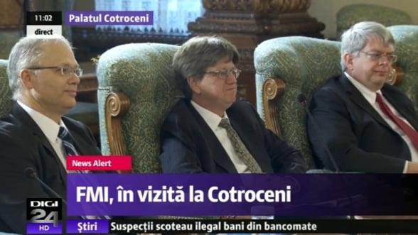 Basescu a primit delegatia FMI: Imediat dupa alegeri, va incepe o restructurare