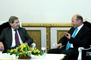 Basescu catre Hahn: Romania va fi 100% cinstita cu banii europeni
