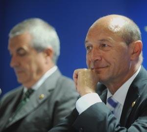 Basescu ii multumeste lui Tariceanu pentru investitia Ford