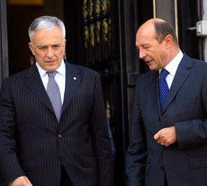 Basescu l-a vrut premier pe Isarescu