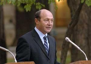 Basescu spune ca participarea Frantei la Nabucco ar grabi demararea lucrarilor