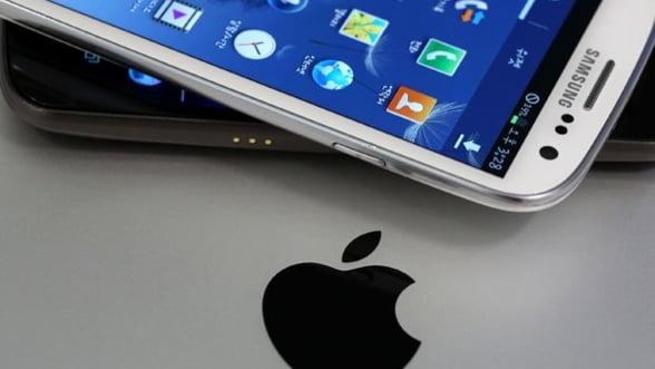 Batalia Apple vs. Samsung continua. Inca un proces privind incalcarea patentelor