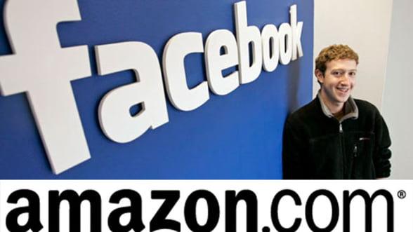 Batalia librariilor virtuale: Facebook va detrona Amazon in piata ebook-urilor?