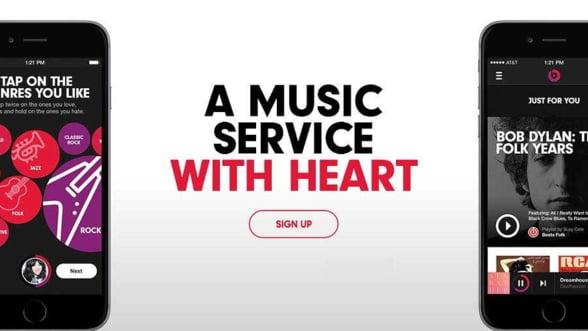 Beats, serviciul de muzica online al Apple, disponibil pe iPhone si iPad din 2015