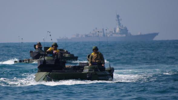 Beijingul militarizeaza Marea Chinei de Sud. Americanii, in alerta
