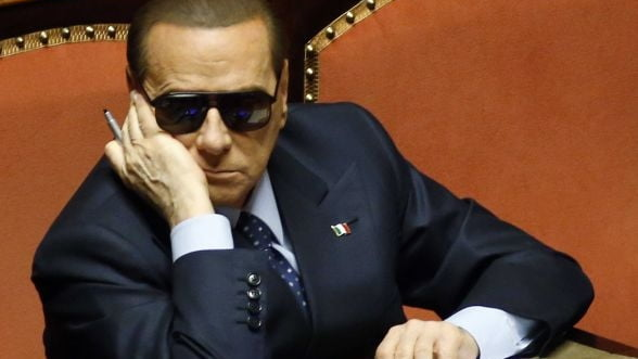 Berlusconi poate provoca o furtuna financiara in Italia - Roubini