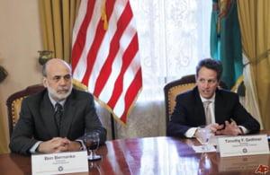 Bernanke si Geithner vor puteri sporite pentru lichidarea institutiilor falimentare