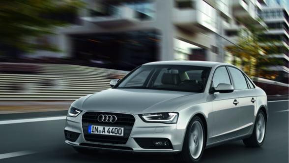 Bestseller auto: Noul Audi A4, partenerul tau de afaceri