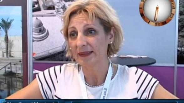 Bianca Abrudeanu, outgoing manager New Travel Muntenia