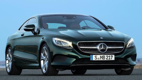 Bijuteria suprema: Mercedes S-Class Coupe cu Swarovski
