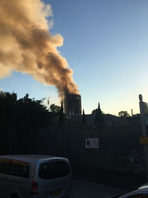 Bilantul incendiului devastator din Londra continua sa creasca. E nevoie de fise dentare din toata lumea, pentru identificare