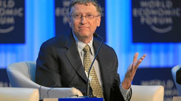Bill Gates: Internetul face ca salariile de acum sa fie mai valoroase decat in trecut