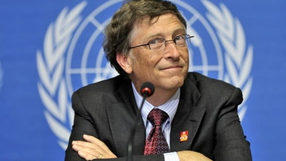 Bill Gates a donat 28 miliarde de dolari in ultimii cinci ani