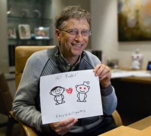 Bill Gates nu vrea sa fie presedinte. Ce ar face cu 40.000 de dolari gasiti pe strada