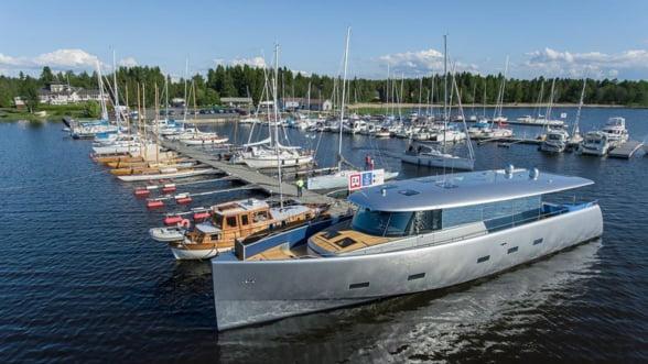 Bill and Me, o surpriza neasteptata lansata la apa in Marea Baltica