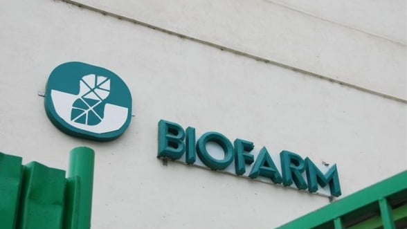 Biofarm mizeaza in acest an pe vanzari in crestere cu 10%, la 115 milioane lei