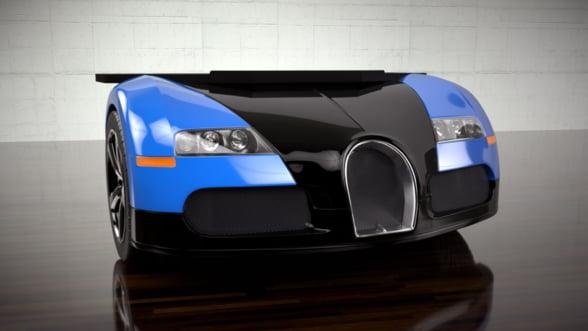 Birou Bugatti Veyron - un decor extravagant, dar stilat!