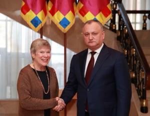 Biroul de Legatura al NATO de la Chisinau a fost inaugurat. Dodon a facut o criza de nervi de Facebook