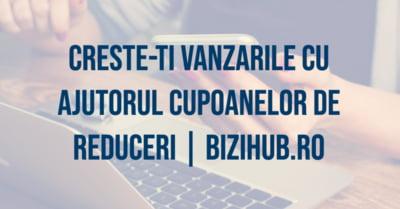 Bizihub lanseaza un serviciu de promotii prin cupoane, special pentru clientii si vizitatorii platformei