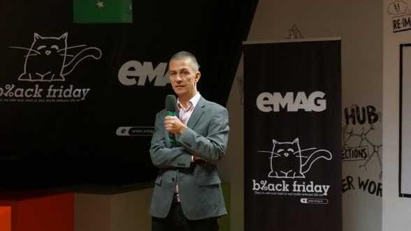 Black Friday: eMAG estimeaza vanzari de 34 de milioane de euro