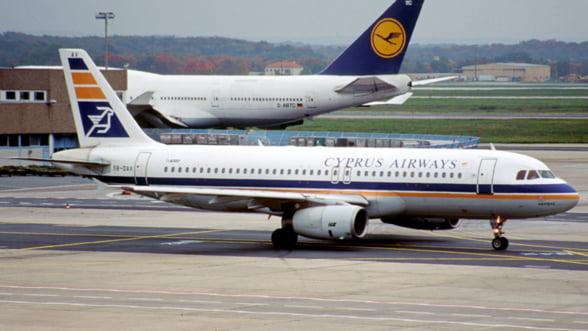 Blue Air, interesata de privatizarea companiei Cyprus Airways