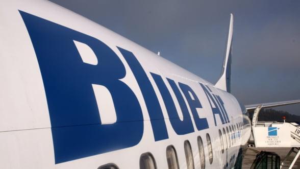 Blue Air a anulat o comanda de 462,2 milioane dolari pentru cinci aeronave Boeing