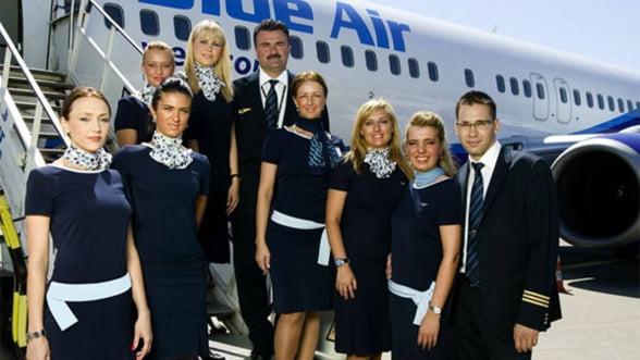 Blue Air a fost cumparata de firma belgiana Maxi Tours si doi actionari romani