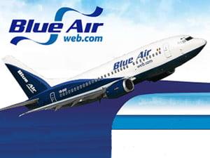 Blue Air a inregistrat, in T1 2009, o crestere a pasagerilor cu peste 10% fata de T1 2008