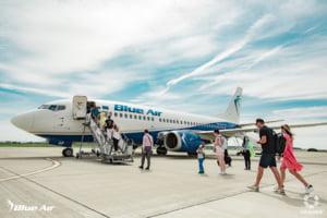 Blue Air anuleaza zborurile planificate cu plecare de pe aeroportul din Bacau in perioada 9 - 12 octombrie