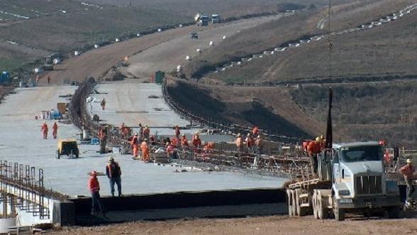 Boc: Lucrarile de pe autostrada Bucuresti-Ploiesti vor fi terminate in aprilie