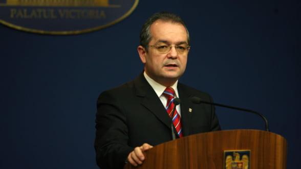 Boc: Nu s-a discutat despre noi taxe pentru a sustine o indexare a pensiilor