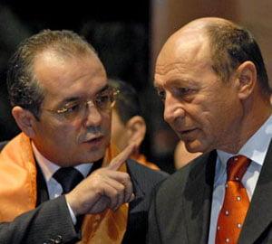Boc vrea liniste, pentru Basescu, in campanie
