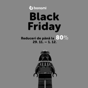 Bonami: recorduri de vanzari in cele doua weekend-uri Black Friday si o noua politica de retur