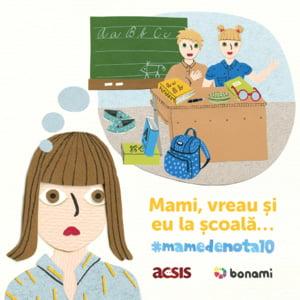 Bonami si ACSIS lanseaza campania caritabila #mamedenota10, prin care strang bani de rechizite pentru copiii defavorizati