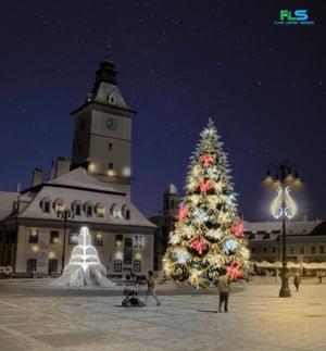 Brasovul va avea in aceasta iarna un nou concept de iluminat festiv (Foto)