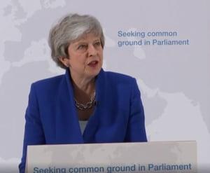 Brexit: Theresa May va cere prin lege parlamentarilor britanici un vot cu privire la organizarea unui nou referendum