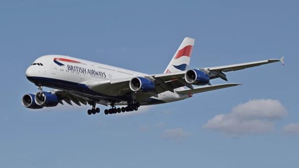 British Airways primeste o amenda de 230 milioane de dolari dupa furtul datelor unor clienti