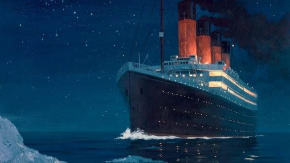 Bucati din Titanic, scoase la licitatie