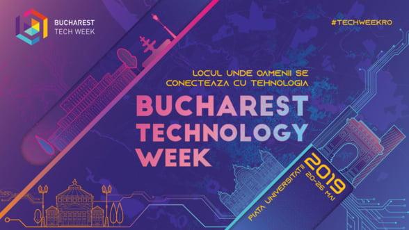 Bucharest Tech Week aduce inovatiile tehnologice in atentia romanilor pentru al patrulea an consecutiv