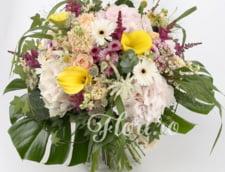 Buchete cu flori de Ziua femeii