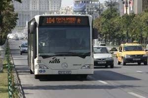 Bucurestenii, privilegiati la transportul in comun