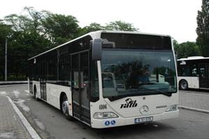 Bucurestenii au testat noile autobuze Mercedes